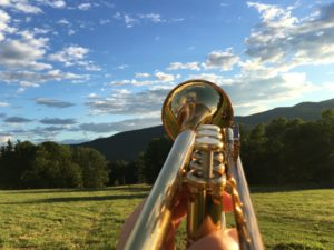 Stowe Vermont trumpet glen marhevka van trapp family lodge Yamaha
